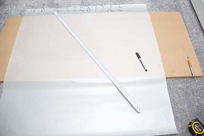 05 DIY frosted window film