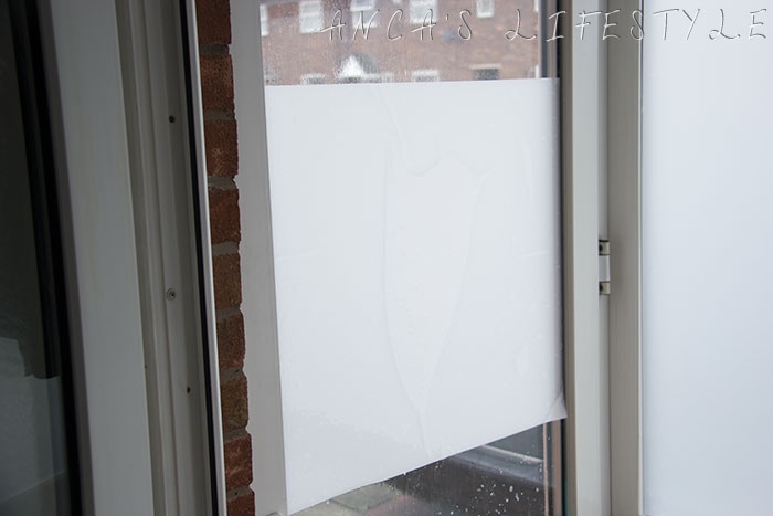 12 DIY frosted window film