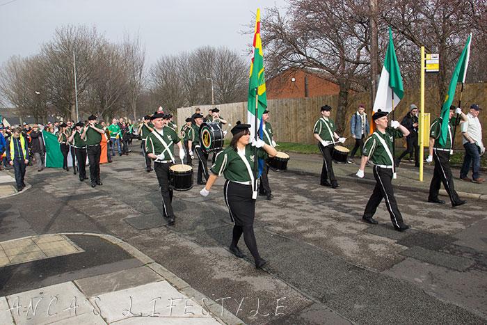 02 St Patricks Day Liverpool parade