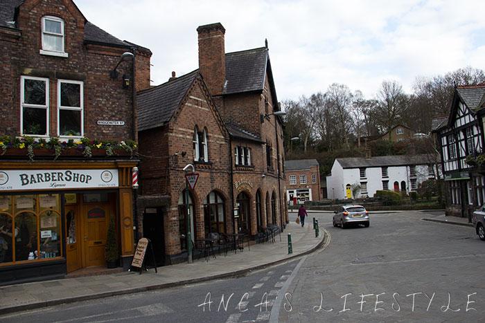 Lymm village Cheshire