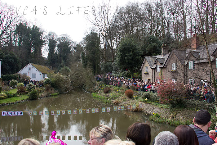 Lymm Easter Monday duck race