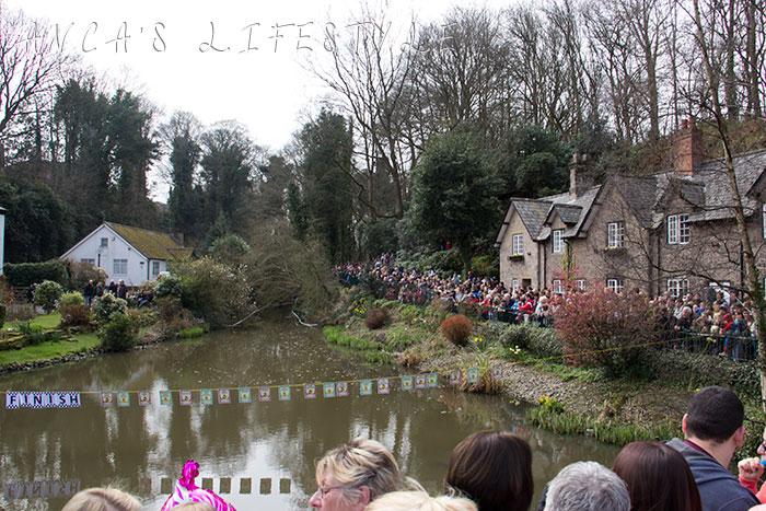 Lymm Easter Monday duck race