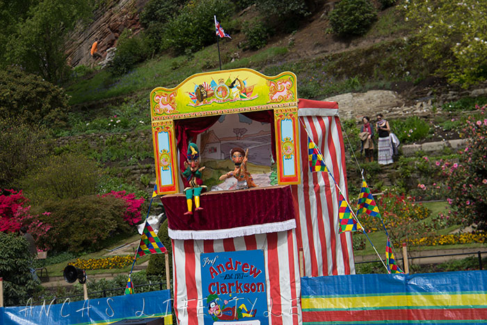 12 Victorian May Day at Quarry Bank National Trust Punch and Judy