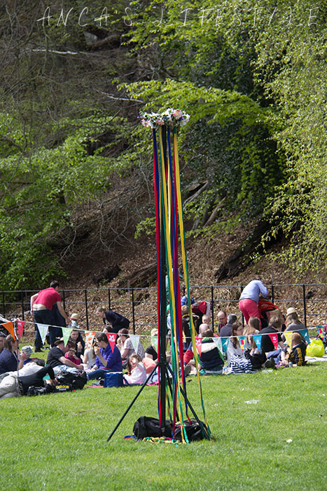 20 Victorian May Day at Quarry Bank National Trust with maypole dancing