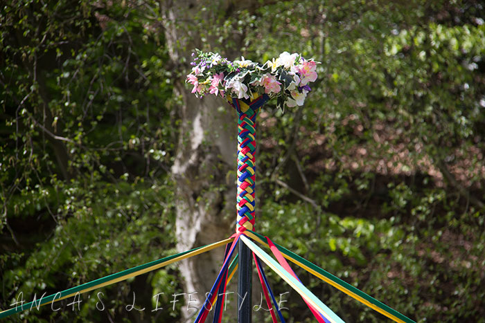23 Victorian May Day at Quarry Bank National Trust with maypole dancing