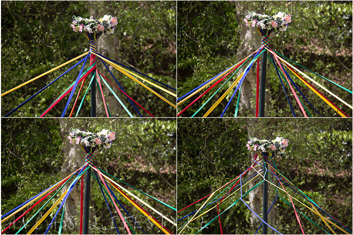25 Victorian May Day at Quarry Bank National Trust with maypole dancing