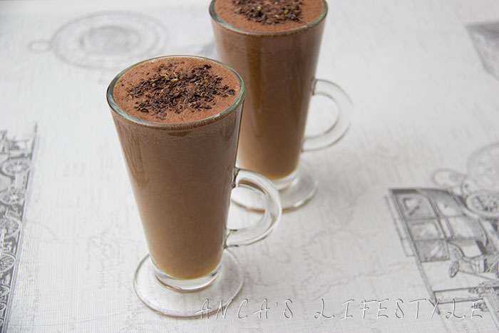 03 Chocolate and orange smoothie