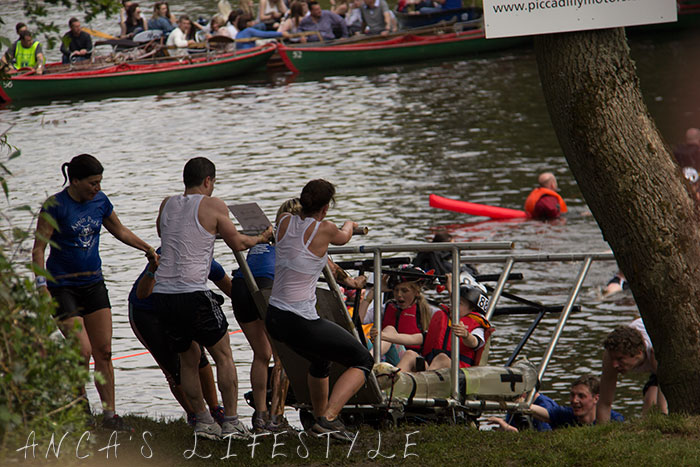 30 Knaresborough  bed race