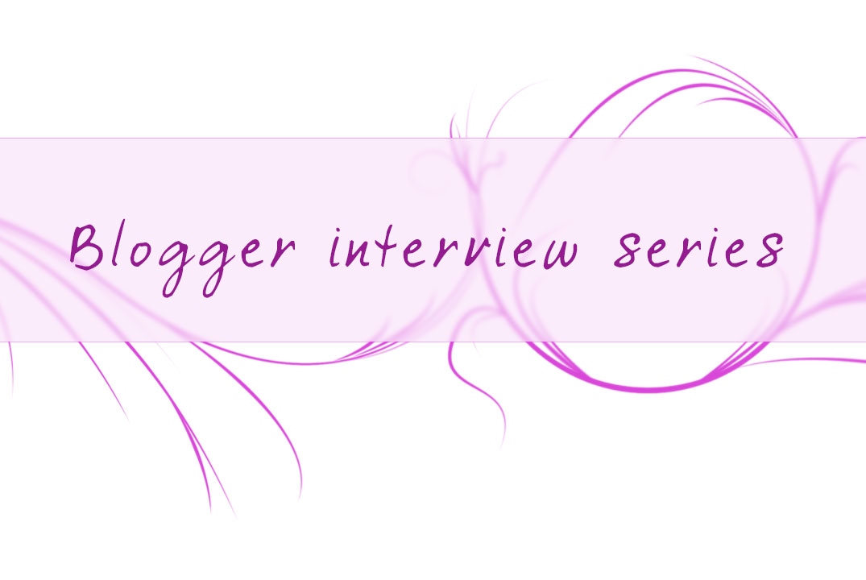 Blogger interview series