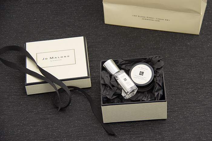 jo malone samples are on my list of good things