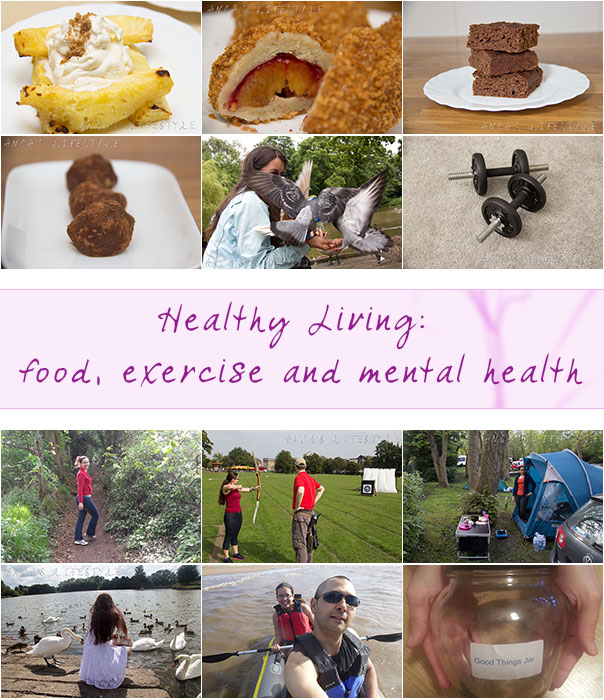 Healthy Living food, exercise and mental health