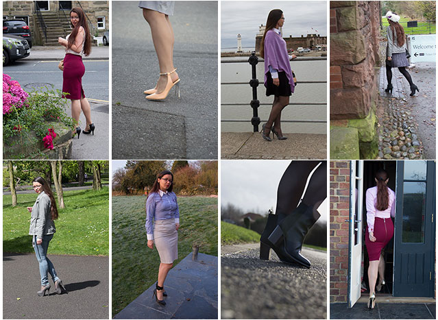 walking in high heels can be easy