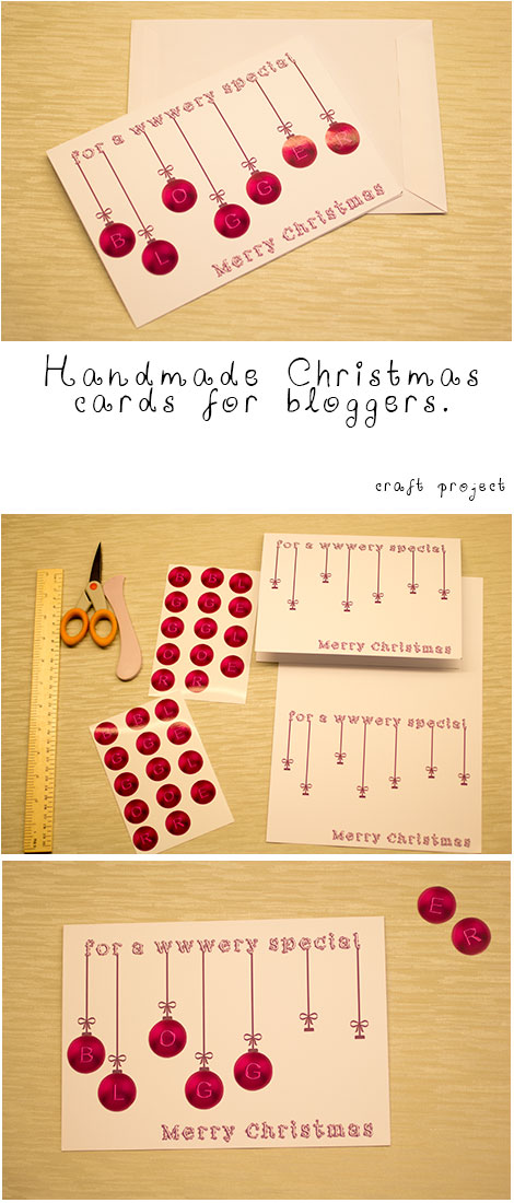 Christmas cards project