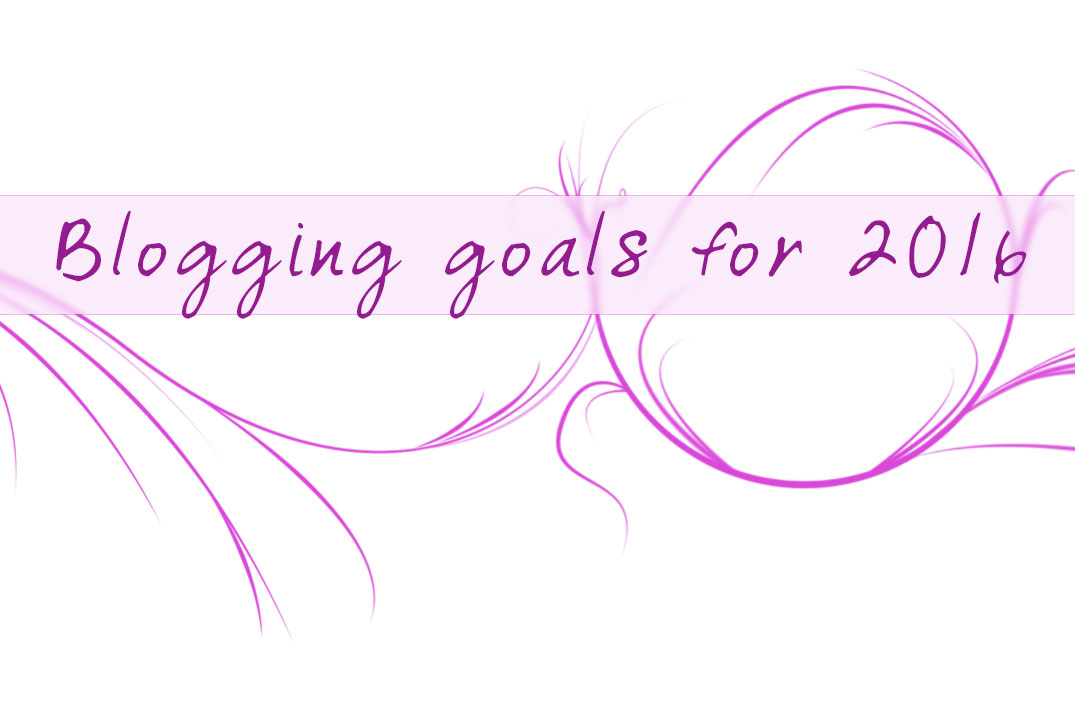 Blogging Goals for 2016