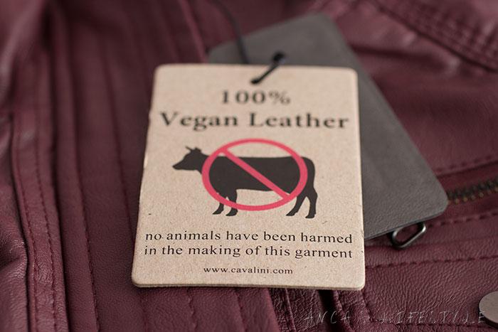 06 Vegan Cavalini leather jacket