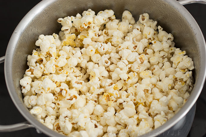 03 Homemade popcorn