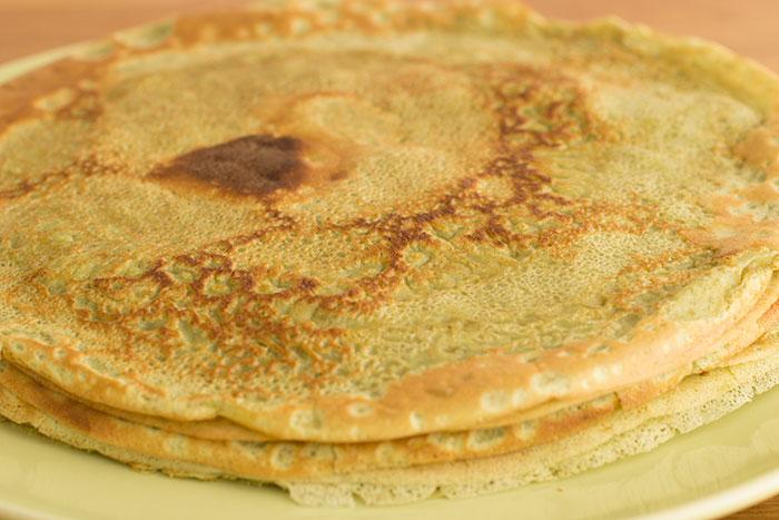 matcha-pancakes