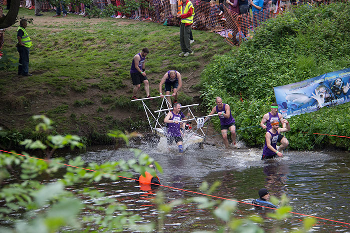 13 Knaresborough Bed race
