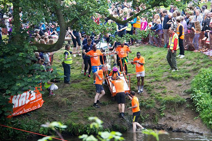 15 Knaresborough Bed race