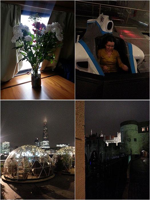 My birthday in London
