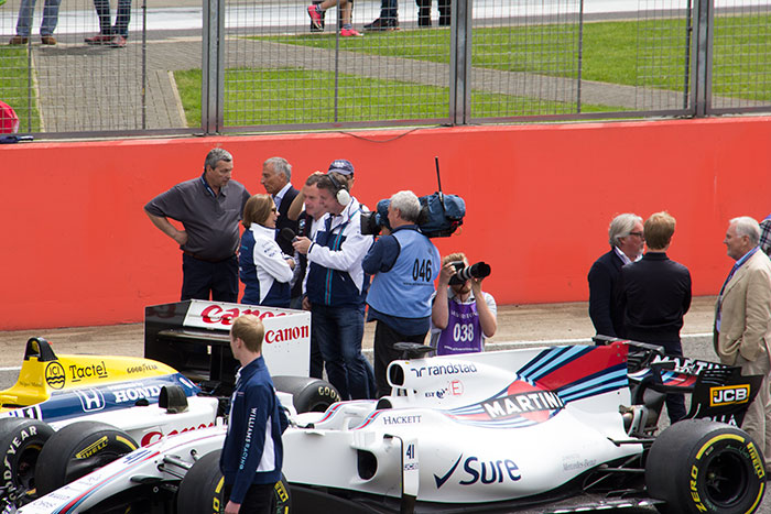 02 40th anniversary of Williams at Silverstone
