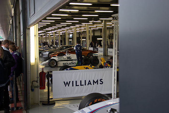 11 40th anniversary of Williams at Silverstone
