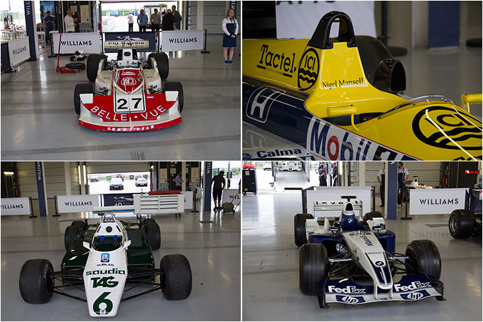 12 40th anniversary of Williams at Silverstone