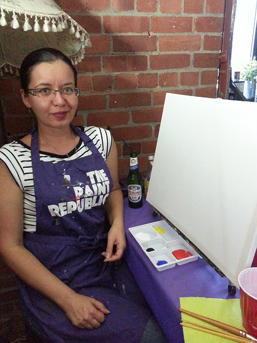 02 Painting Classes with The Paint Republic