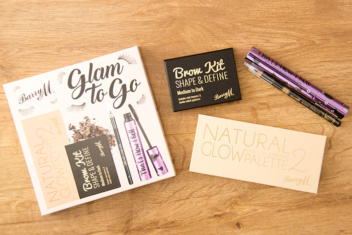 Barry M MakeUp Glam to Go Eye Kit. All products