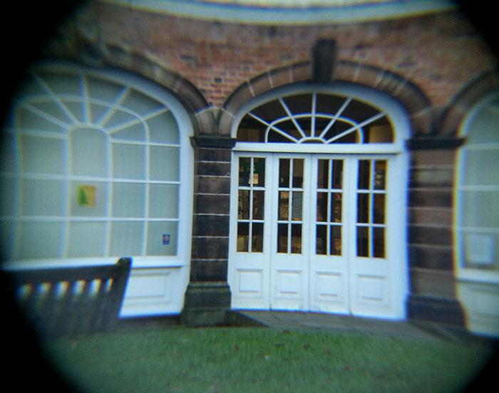 Door taken with the telescope lens