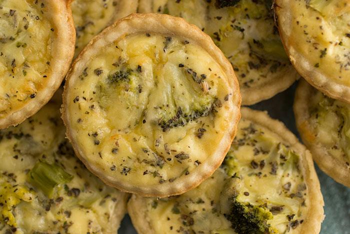 Broccoli Mini Quiche