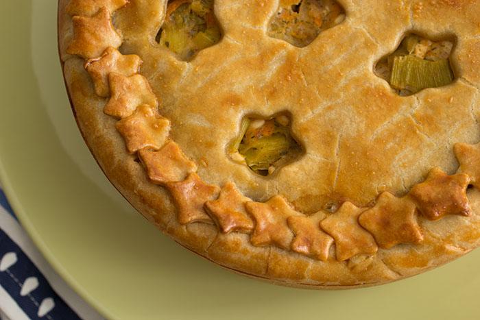 Leek and Potatoes Pie