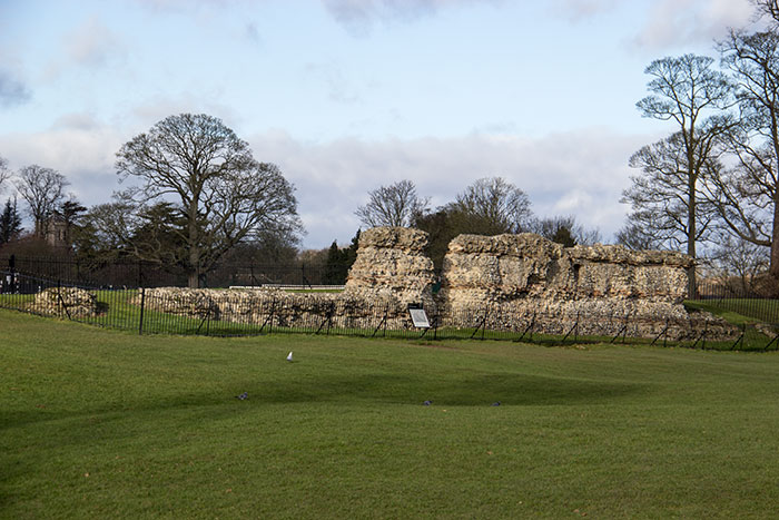 Roman wall in St. Albans