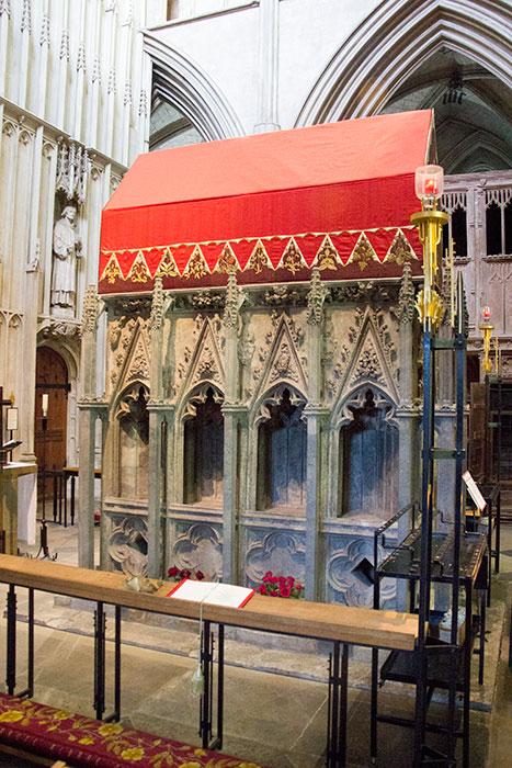 St. Alban shrine
