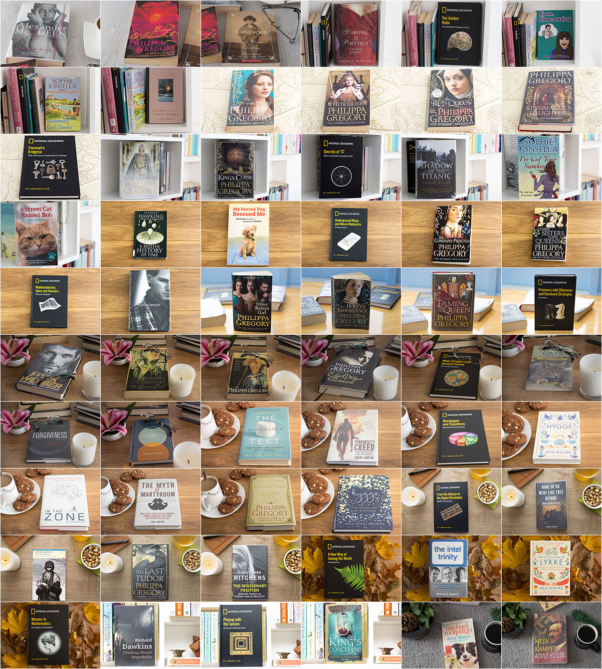 60 Books collage
