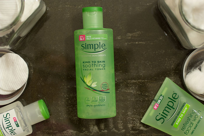 Simple Cosmetics - Kind to Skin Soothing Facial Toner