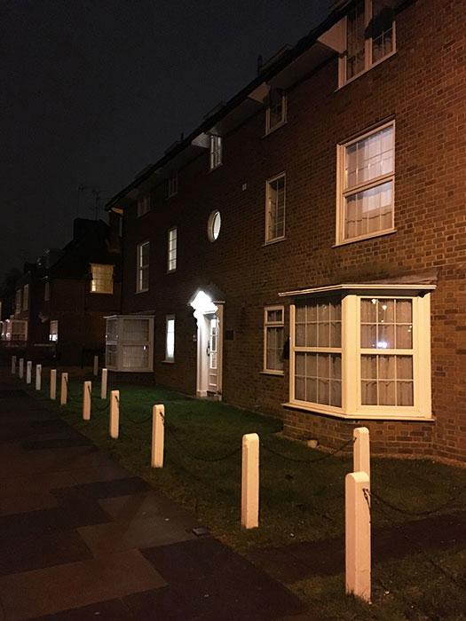 Welwyn Garden City, row of houses