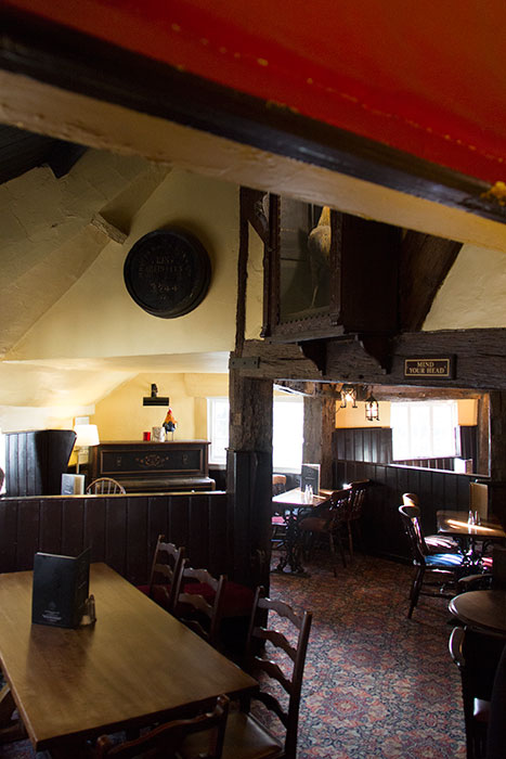 Ye Olde Fighting Cocks, main room, seen from a different view