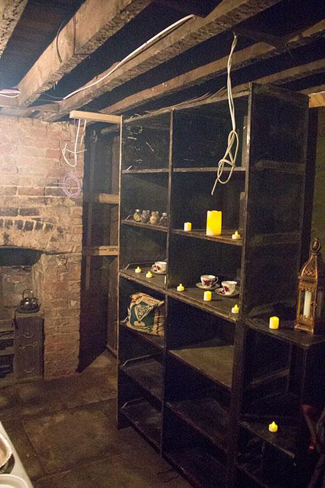 Victorian Kitchen at Abdullah Quilliam. Storage