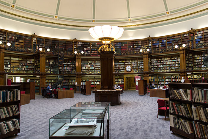 Liverpool Central Library. Picton Reading Room
