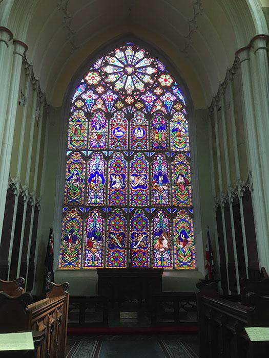 St Michaels. The Cast Iron Church