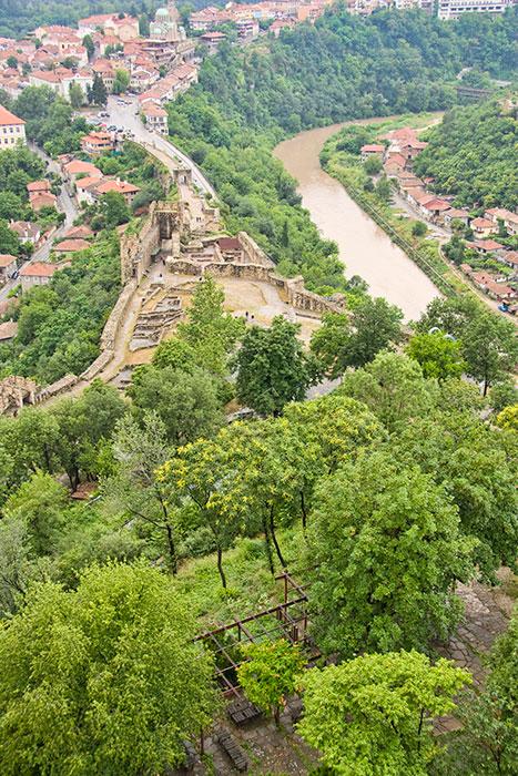 Views from Veliko Tarnovo Bulgaria