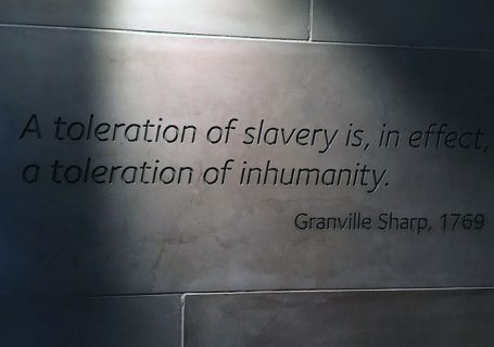 International Slavery Museum Wall