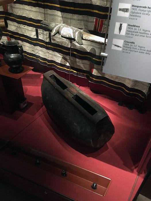 International Slavery Museum. Artefact on display