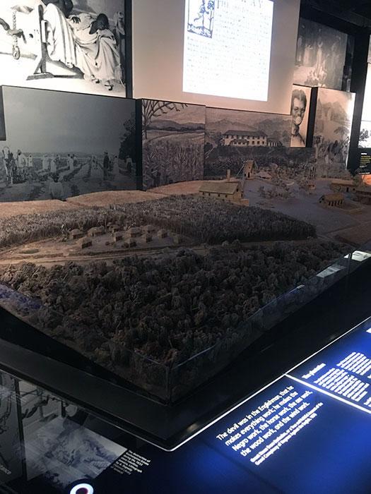 International Slavery Museum. Diorama