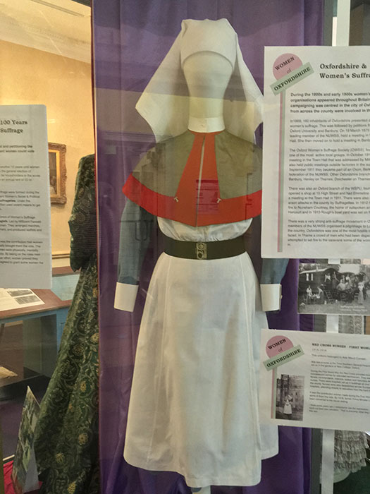 The Oxfordshire Museum. Dress