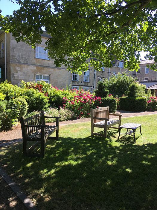 The Oxfordshire Museum. Garden