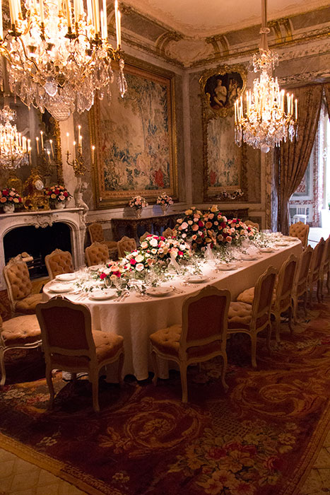 Dinning room. Waddesdon Manor