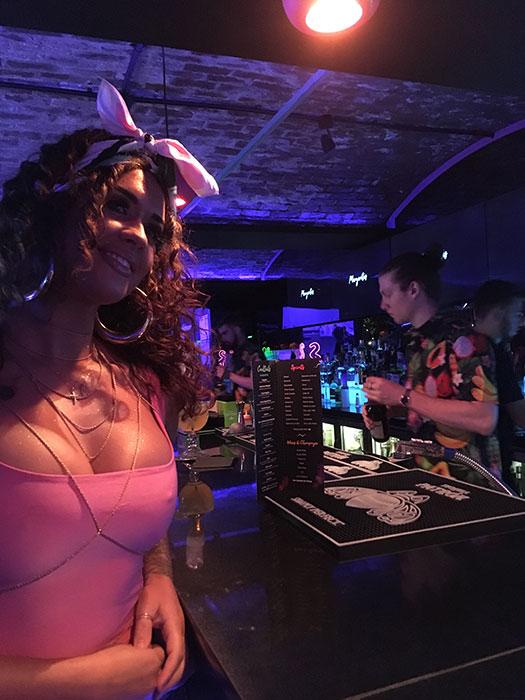 hostess at margaritas liverpool