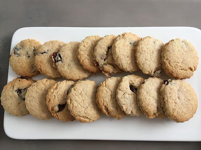 Cherries Biscuits